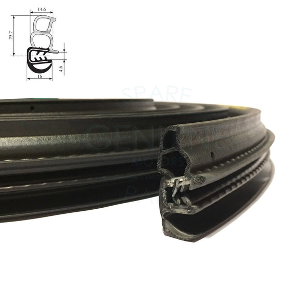 RH / LH SLIDING DOOR WEATHERSTRIP RUBBER SEAL FITS DUCATO, RELAY, BOXER 2006 ON