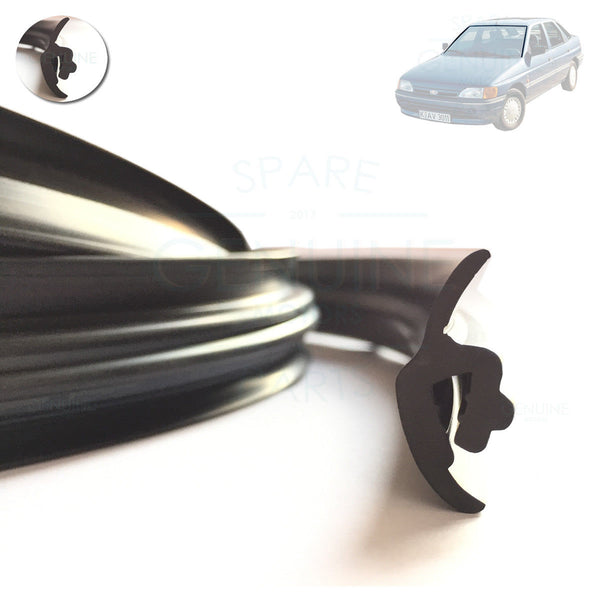 FORD ESCORT / ORION MK5 1990-1995 WINDSCREEN MOULDING RUBBER SEAL, 6807564