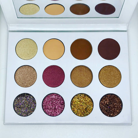 'Summer Nights' Glitter Eyeshadow Palette