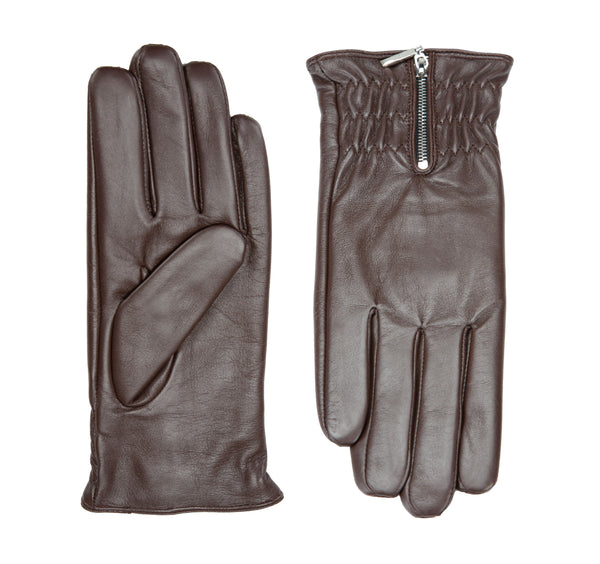 Aurora leather gloves