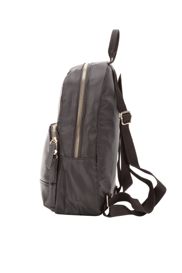 LORENZO Black BACKPACK