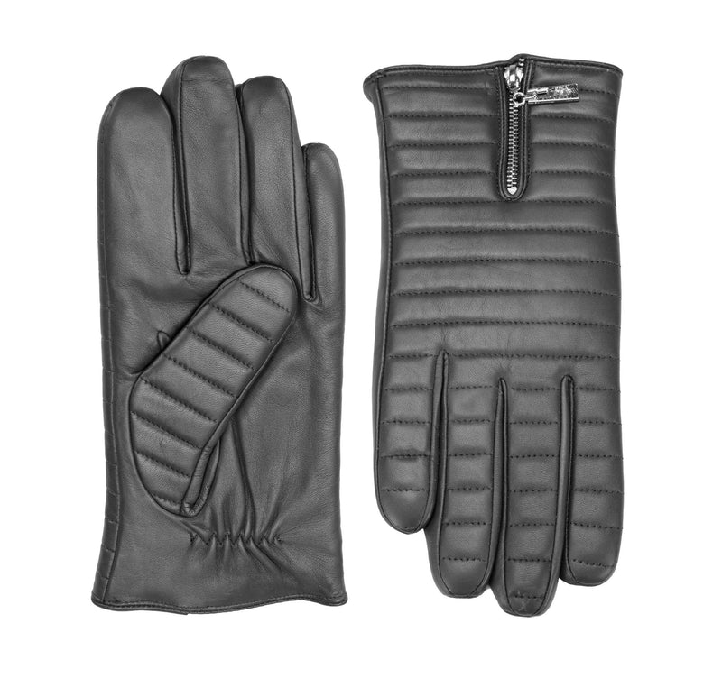 Enzo leather gloves