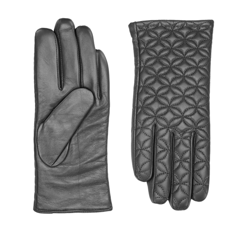 Flora leather gloves