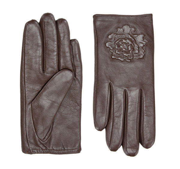 Francesca leather gloves