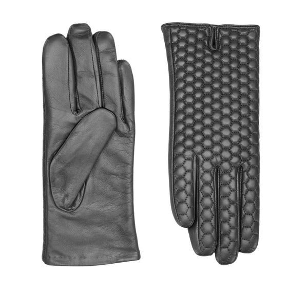 Veronica leather gloves