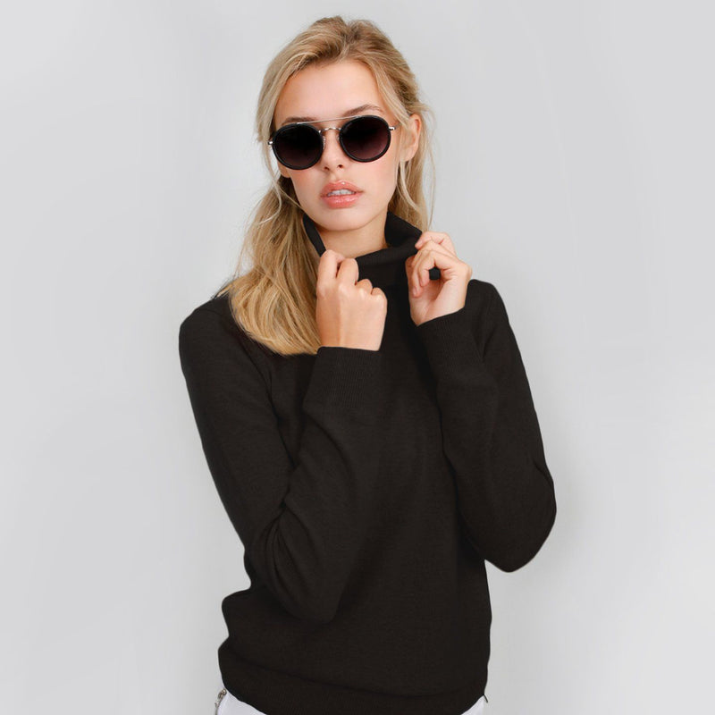 Turtle Neck Cashmere Sweater