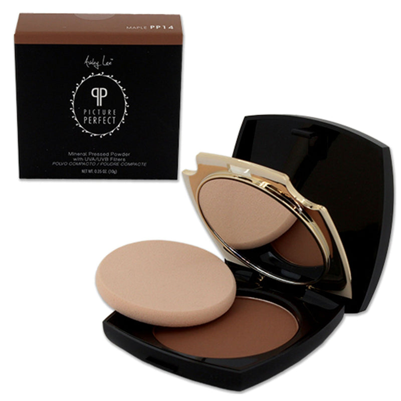Maple Mineral Pressed Powder Foundation Ashley Lee Cosmetics