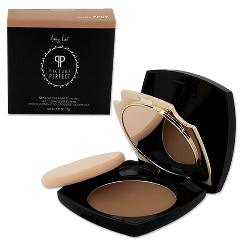 Malibu Mineral Pressed Powder Foundation Ashley Lee Cosmetics