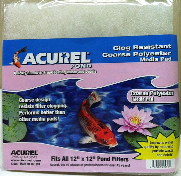 Acurel Pond Filter Replacement Coarse Media Pads 12