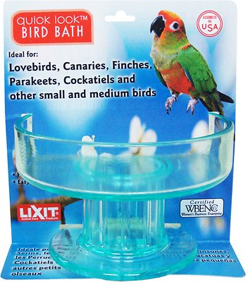 Lixit Quick Lock Bird Bath For Small And Medium Birds