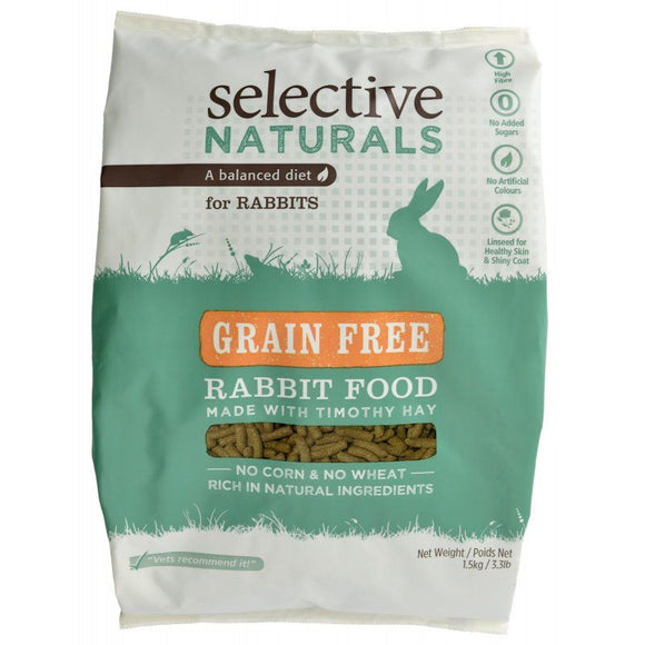 Supreme Selective Naturals Grain Free Rabbit Food