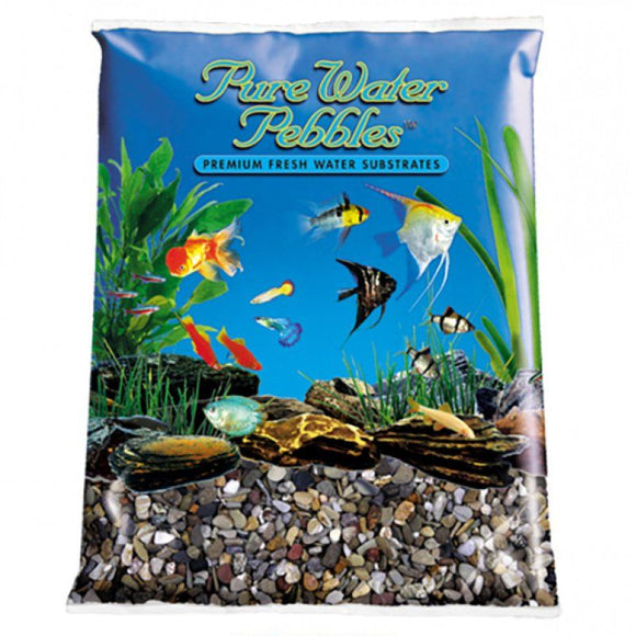 Pure Water Pebbles Aquarium Gravel - River Jack