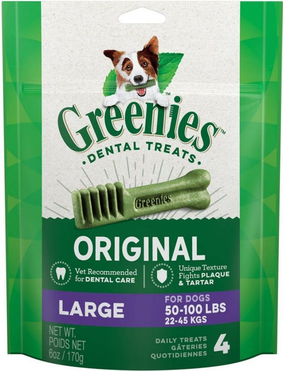 Greenies Original Dental Dog Chews-Large