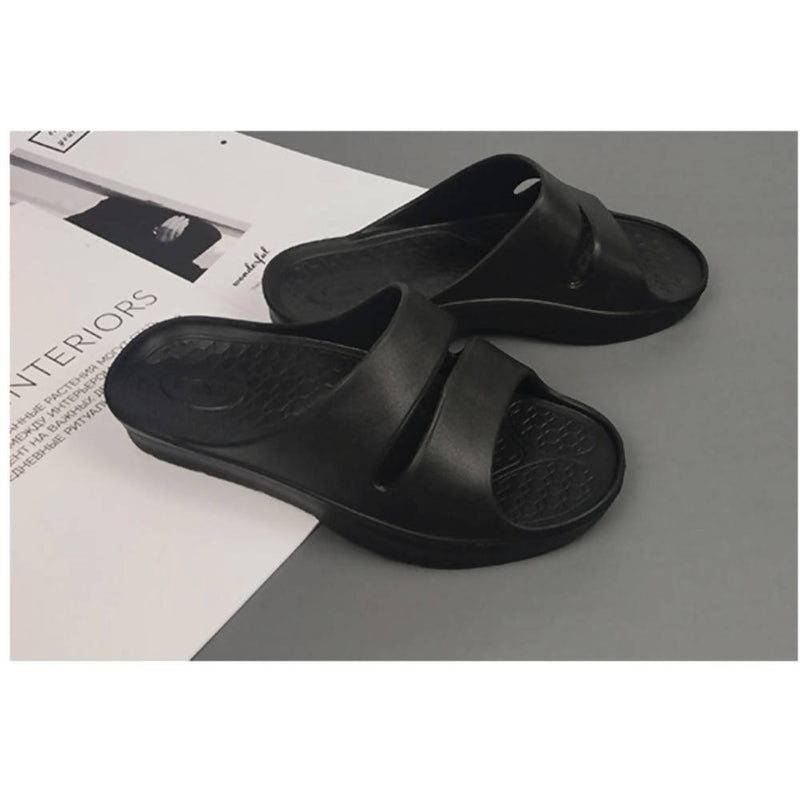 [MENFUS] EVA ARCH STRENGTHENER SLIPPERS 아치 강화 슬리퍼 (BLACK)