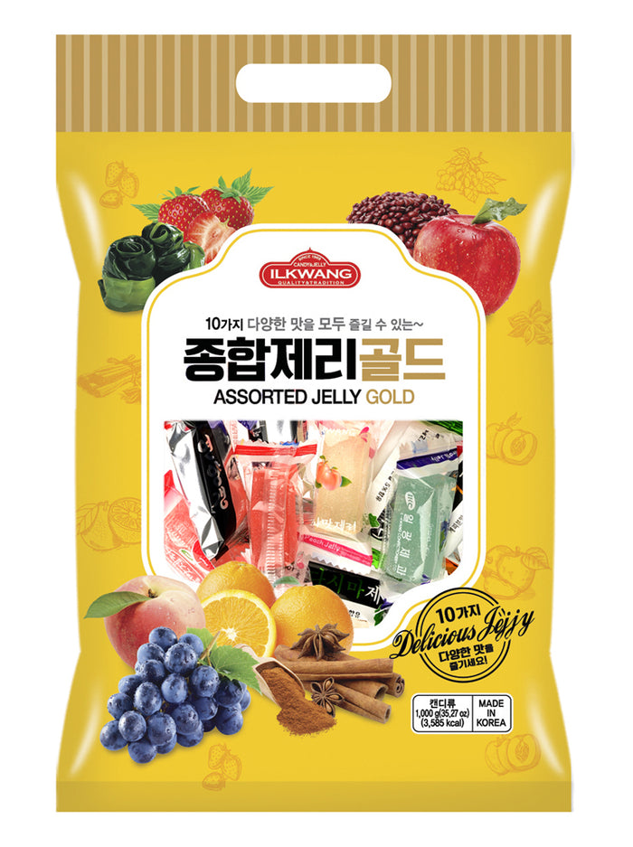IL KWANG ASSORTED JELLY [일광 종합 젤리]