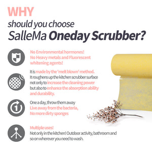 SALLE MA ONEDAY SCRUBBER & HOLDER