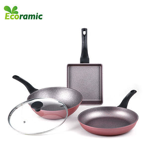 ECORAMIC DAILY FRYING PAN SET (4 PCS)