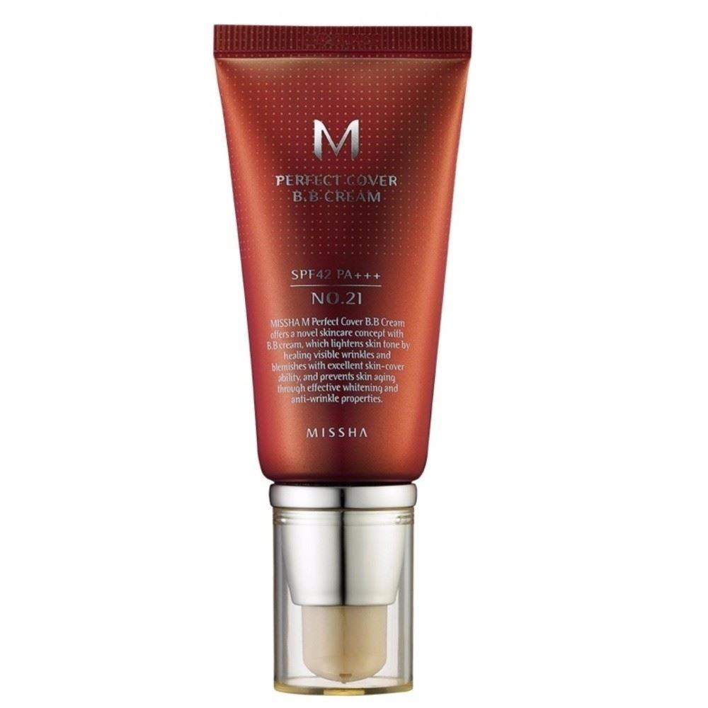 MISSHA M PERFECT COVERING BB CREAM 50ml SPF 42 PA+++ [미샤M 퍼펙트 커버링 비비 크림]