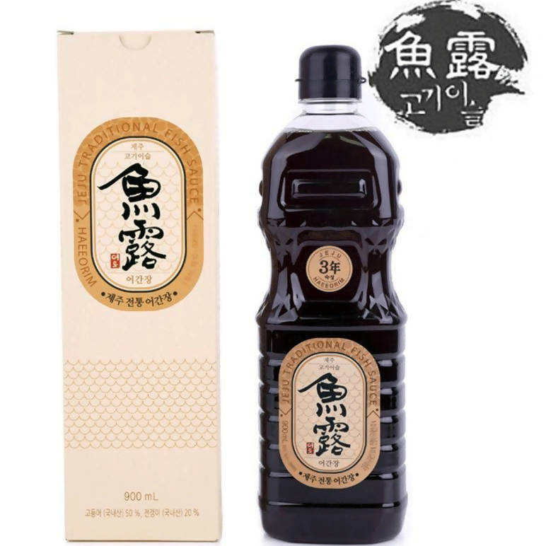 Jeju Traditional Fish Soy Sauce 900ML