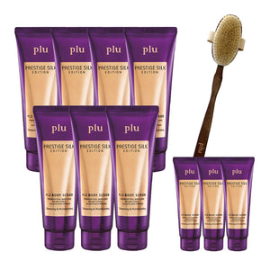 PLU BODY SCRUB & BRUSH SET