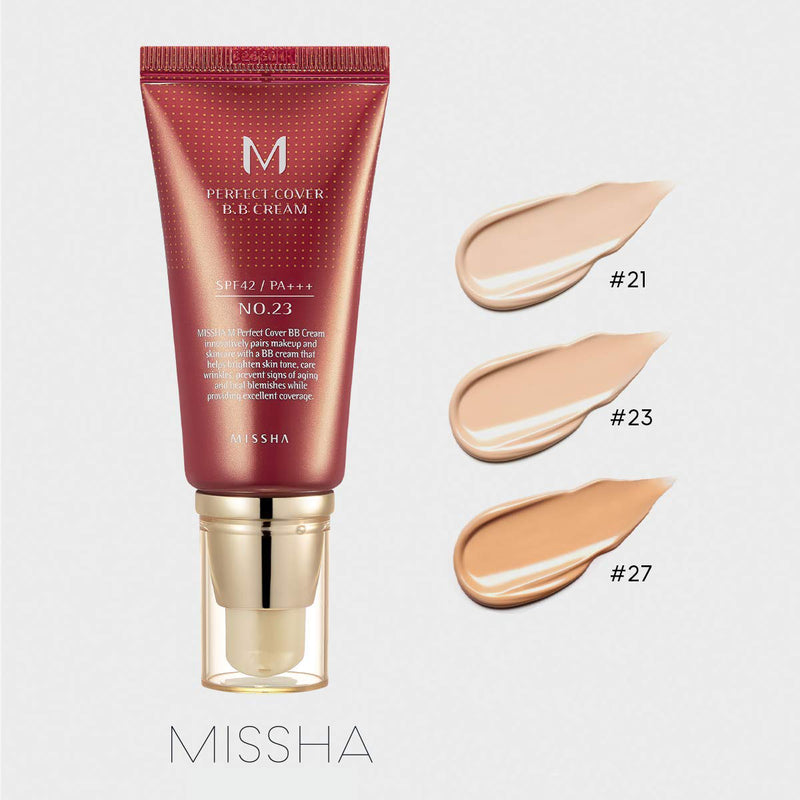 MISSHA M PERFECT COVERING BB CREAM 50ml SPF 42 PA+++