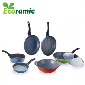 ECORAMIC FRYING PAN SET (7pcs)