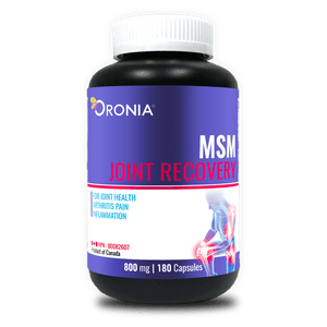 ORONIA MSM JOINT RECOVERY