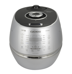 CUCKOO - IH PRESSURE RICE COOKER 6 CUP METAL