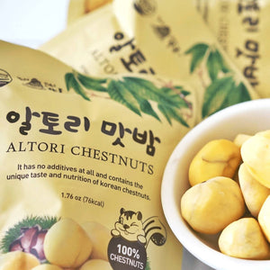 Mt. Jirisan 100% Korean Chestnut (10 Bags per Box)