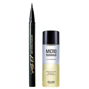 CLIO WATERPROOF BRUSHLINER KILL BLACK SET XP