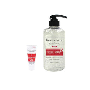 PERFECT CARE GEL HAND SANITIZER SET (70ml, 500ml)