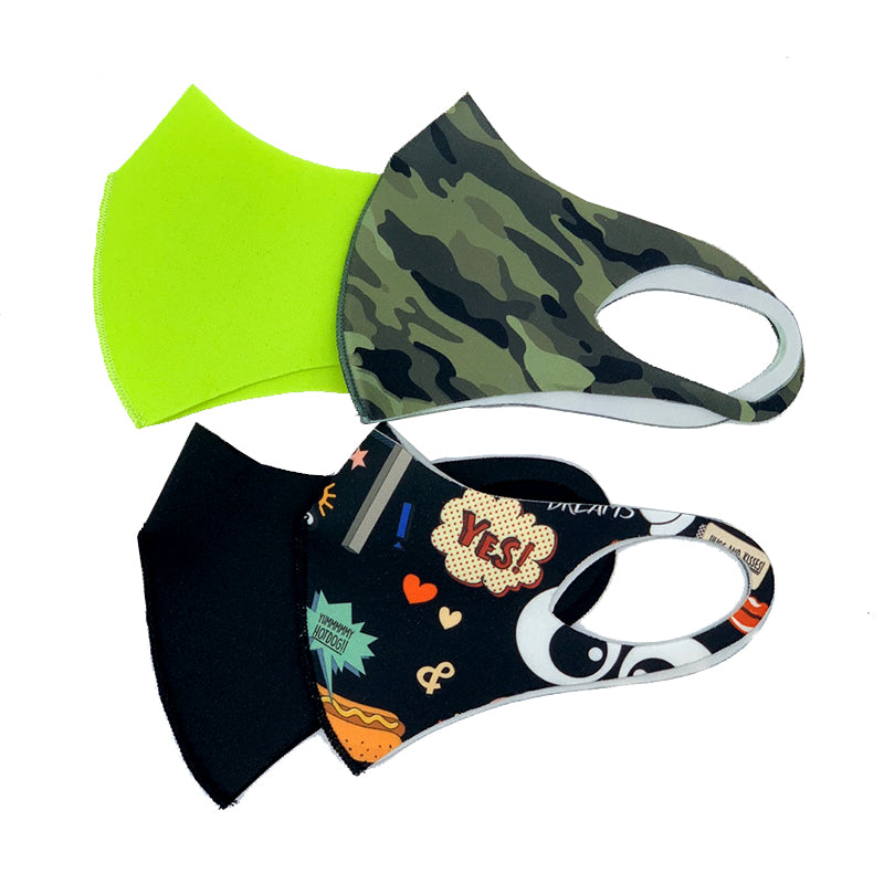 CROSSI  FASHION MASK KIDS BOYS 4PCS
