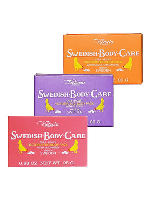 SWEDISH BODY CARE (BILBERRY, CHAMAEMOURUS, LINGONBERRY)