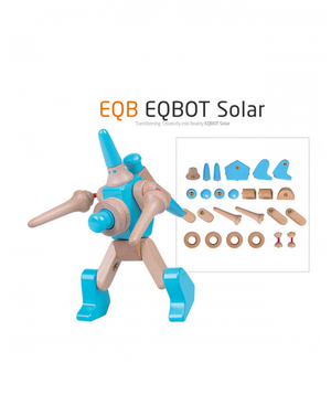 EQB BLOCK -EQB BOT 3 SET [EQB 로봇 나무 블럭]