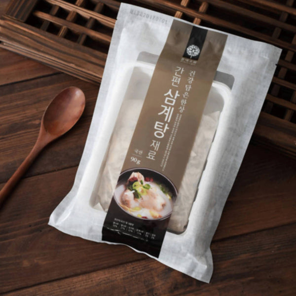 Momaejowha Chicken Stew (Samgyetang) Ingredients 90g