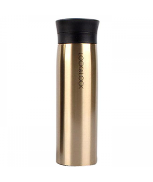 Lock & Lock Line Tumbler 400ML (13.53 oz/ Gold)