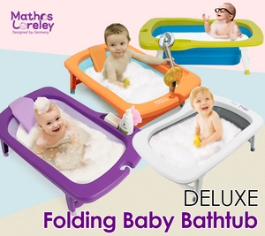 Mathos Loreley Folding Bath (Green/Purple)