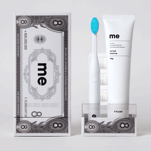 ME FLASH LED TOOTHBRUSH & TOOTHPASTE SET