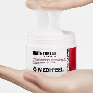 MEDI-PEEL Naite Thread Neck Cream + Hyaluron Rose Peptide Eye Patch