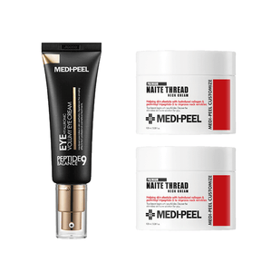 MEDI-PEEL Naite Thread Neck Cream & Peptide Eye Volumy Cream Set