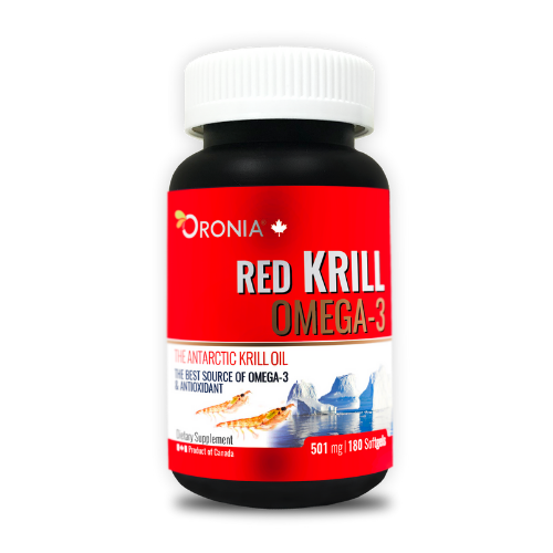 ORONIA RED KRILL OMEGA3