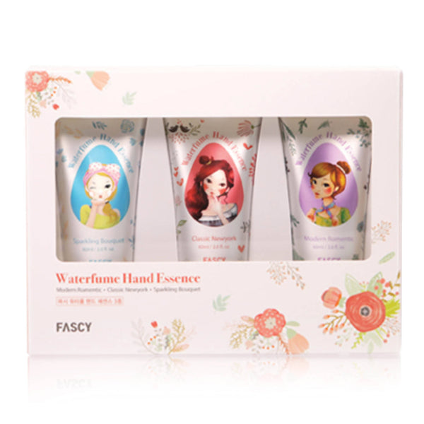 FASCY WATER FUME HAND ESSENCE GIFT SET (60ml x 3ea)