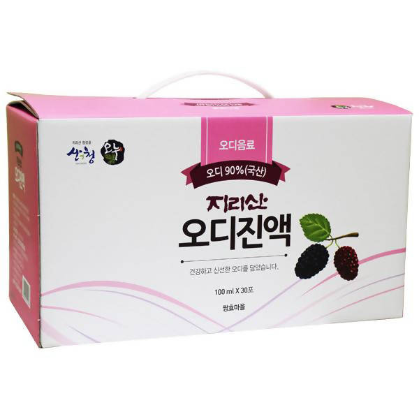 100% Mulberry Extract 100ml*30Bags 지리산 오디진액 100ml *30포