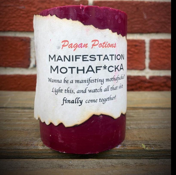 Manifestation Mothaf*cka Candle