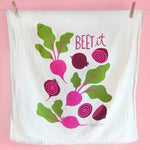 Beet it Dish Towel
