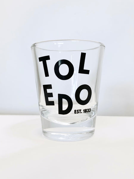 Toledo Shot Glass