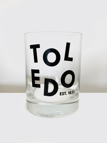 Toledo Rocks Glass