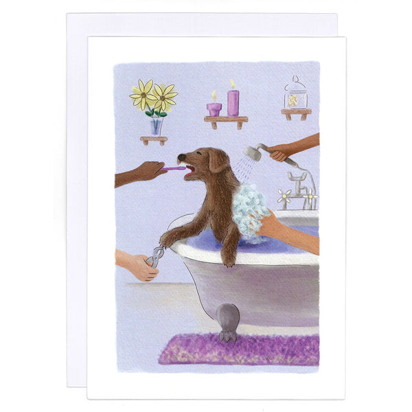 Spa Day Greeting Card