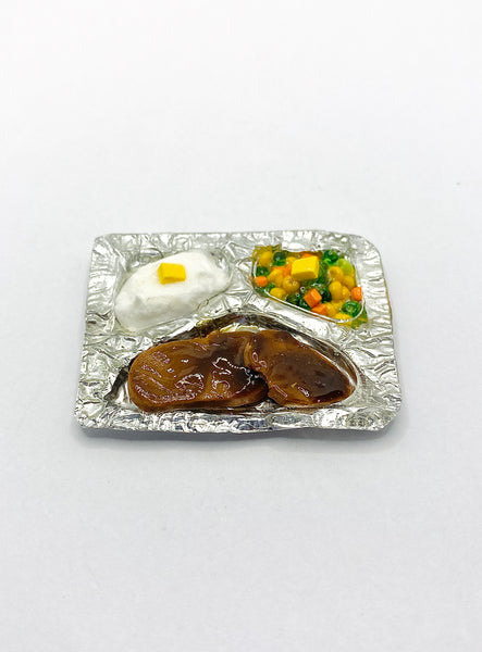 Salisbury Steak Vintage TV Dinner Magnet