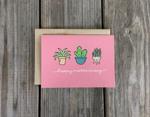 Mother's Day Plants Card